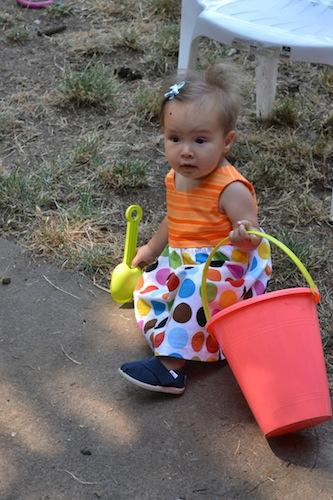 Alyx's 1st birthday dress